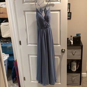 Mori Lee Bridesmaid Dress Slate